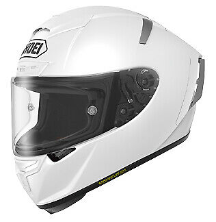 Shoei X-14 Solid Color Helmets 0104-0109-07 White XLG