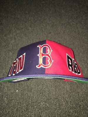 61f3bb8e BOSTON RED SOX MLB Vintage Snapback Hat Cap American Needle Navy ...