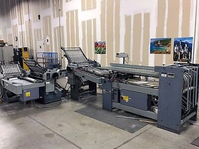 Stahl TF 66/444 RF Continuous Feed Folder with Extras!