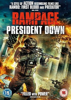 Rampage - President Down (DVD) (NEW AND SEALED)(REGION 2) (FREE POST)