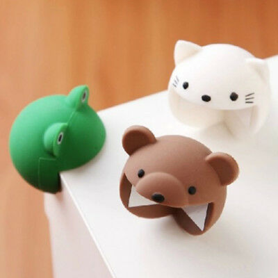 Desk Corner Edge Protection Cover Cute Silicone Baby Safety Protector Animal NEW