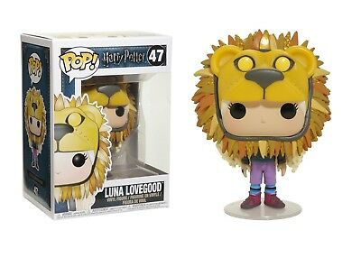 Funko Pop Harry Potter: Luna Lovegood with Lion Hat Vinyl Figure Item #14944