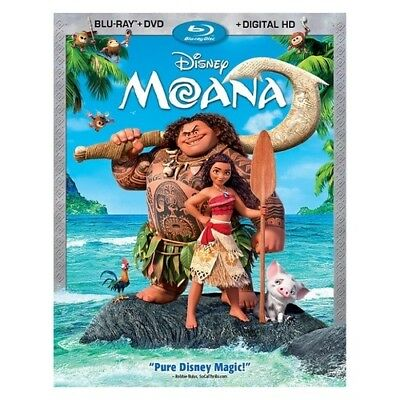 Buena Vista Home Video Br143275 Moana (Blu-Ray/dvd/digital Hd/2 Disc)