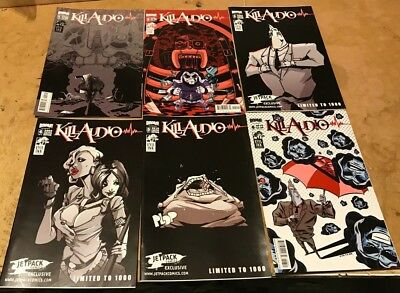 KILL AUDIO 1-6 set Coheed and Cambria CLAUDIO SANCHEZ HOT Key of Z Boom Studios