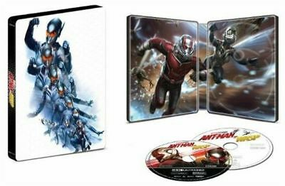 Ant-Man And The Wasp (Steelbook) (4K + Blu-Ray + Digital)