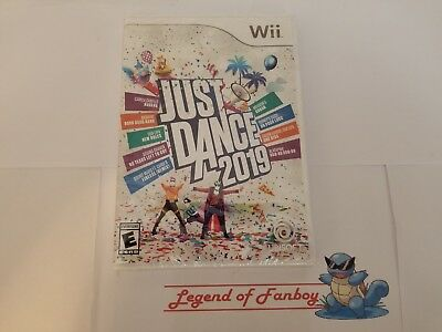 New * Just Dance 2019 - Nintendo Wii  * Sealed Game * Christmas Kids Multiplayer
