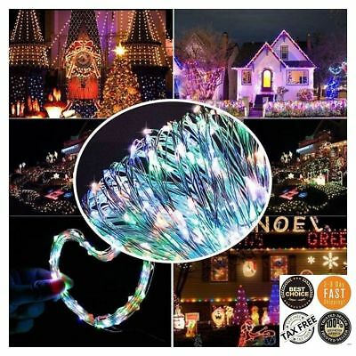10M 100 LED USB Copper Wire Fairy String Light Strip Waterproof Lamp Party Xmas