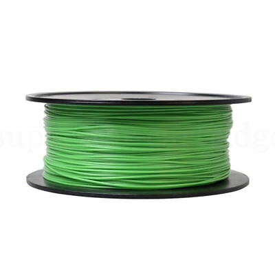 3D Printer Filament PLA/ABS - 1.75mm -Roll-1KG Weight - Various Colours Green