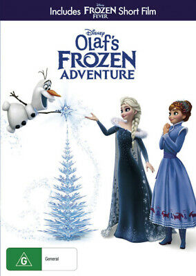 DISNEY Olaf's Frozen Adventure (DVD) Brand New Sealed R4