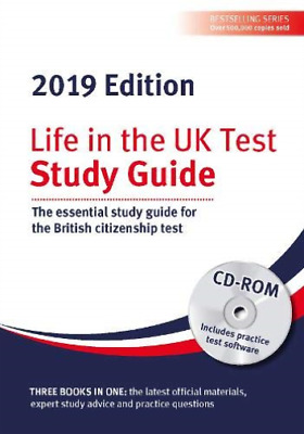 Life In The Uk Test: Study Guide & Cd Rom 2019 BOOK NEW