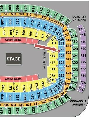 GEORGE STRAIT Concert, Mar 17, Houston Rodeo (Sect 322, Row A) Price for 2 Tics