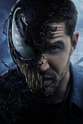X-03 Venom Tom Hardy Movie Textless Print Film 2018 Poster Art 12x18 24x36 32x48
