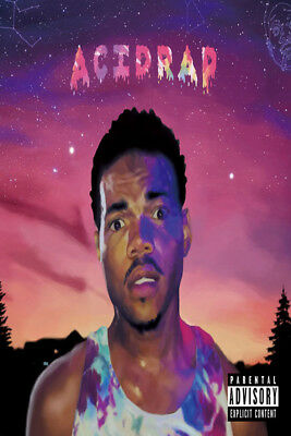 X-942 Chance the Rapper Acid Rap 12x8 40x27 Hot Wall Poster