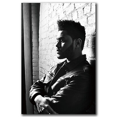 The Weeknd Starboy Art Hot 12x18 24x36in FABRIC Poster N3392