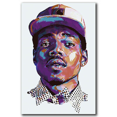 Chance the Rapper Acid Rap Music Art Hot 12x18 24x36in FABRIC Poster N3412
