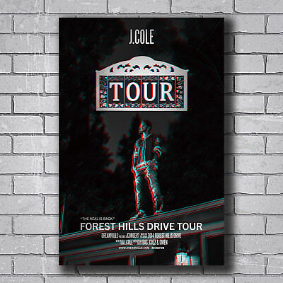 N-401 J Cole 2014 Forest Hills Drive Hot Wall Poster Art 20x30 24x36IN