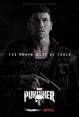 F-518 The Punisher 2017 Marvel TV Series Hot Poster - 36 27x40in - Art Print