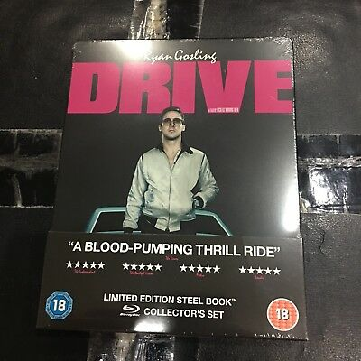 DRIVE Blu-ray Steelbook | HMV UK exclusive | Gosling | NEW & SEALED | Region B