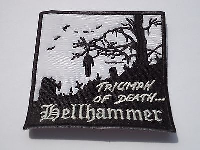 Hellhammer Triumph Of Death Black Metal Embroidered Patch