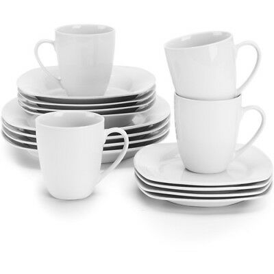 10 Strawberry Street Square 45 Piece Dinnerware Service For 6 W