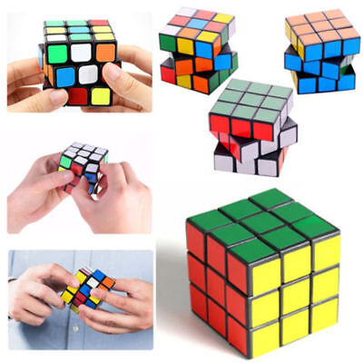 3D Rubik's Cube Rubix Cubic Magic Square Puzzle Mind Game Kids Toys Classic Gift