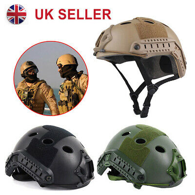 Military Tactical Gear Airsoft Paintball SWAT Base Jump Protective FAST Helmet