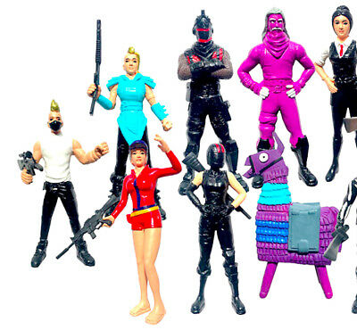 DE 12pcs Fortnite 12cm Action Figuren Charakter Llama Trooper Game Toy Doll Gift