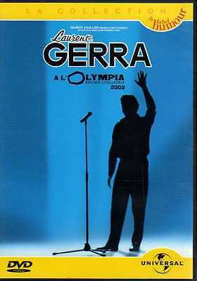 DVD-LAURENT GERRA son spectacle à L'OLYMPIA en 2002-humour