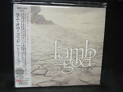 LAMB OF GOD Resolution + 1 JAPAN CD Blotted Science Burn The Priest Groove/Mcore