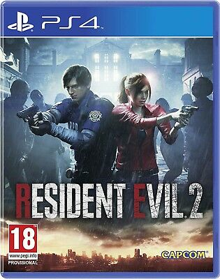 Resident Evil 2 in Lenticular Sleeve | PlayStation 4 PS4 New - Preorder
