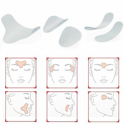 Frown Smile Lines Forehead Ultra Thin Facial Lift Patches for Wrinkles Lines U9