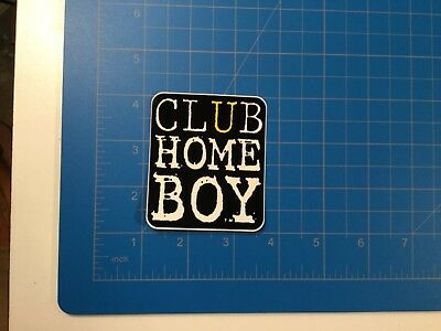 Vintage CLUB HOMEBOY Sticker - Late 80's BMX Freestyle Skate Decal