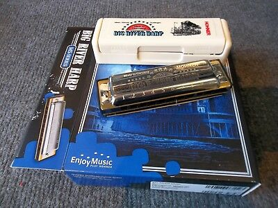 Hohner Big River harmonica harp in key of  C. New. Warranteed. Free shipping.