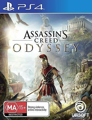 Assassins Creed Odyssey PS4 Game Playstation 4 BRAND NEW SEALED AU FREE SHIPPING