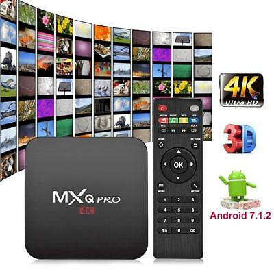 MXQ PRO 4K 64Bit Android 7,1 Quad Core Smart TV Box S905W WIFI streamer 2GB