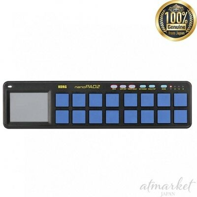 KORG USB MIDI controller NANOPAD2-BLYL NANO PAD 2 Blue & Yellow from JAPAN NEW