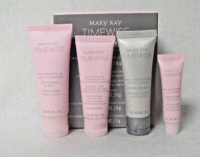 MARY KAY TimeWise Miracle Set 3D The Go Set (Comb/Oily) Traveling Size