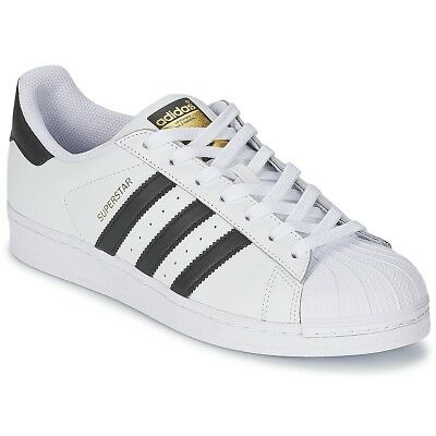 SNEAKERS Scarpe donna adidas SUPERSTAR Bianco Bianco Cuoio
