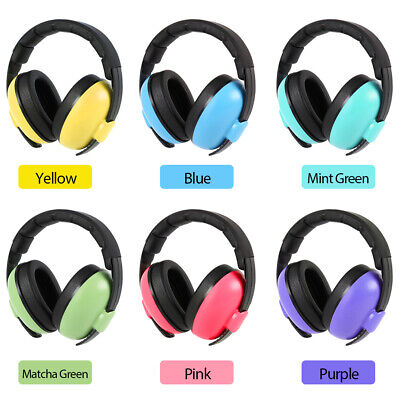 Kids Baby Ear Defenders Childrens Muffs Noise Reduction Folding Protectors Child