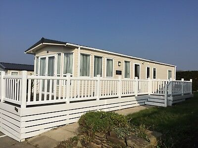 White Acres Cornwall. 3 Bedroom Caravan For Hire Various Dates Available 2019.