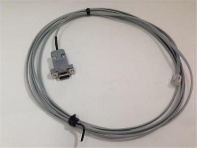12 Ft. PLC DIRECTLOGIC PROGRAMMING CABLE D3-DSCBL-1 DB9 RJ11 4P4C RS232C DL340
