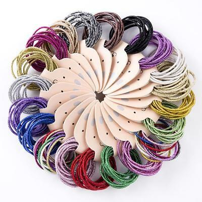 10PCS Cute Kids Girl Elastic Tiny Hair Tie Band Rope Ring Ponytail Holder New