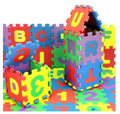 36Pcs Number Alphabet Puzzle Foam Baby Child Maths Educational Toy Gift PlayMats