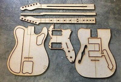 1972 Telecaster Thinline Luthier Routing/Building Templates