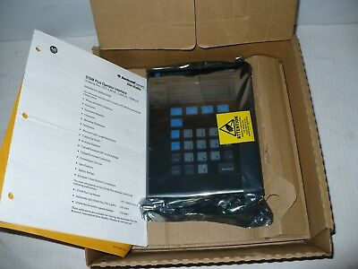 Allen Bradley 2707-V40P2 DTAM Plus. VFD. Series C, Revison B Operator Interface.
