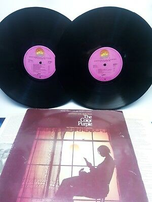 The Color Purple - Banda Sonora Original - Doble - Lp /disco Vinilo -  1986