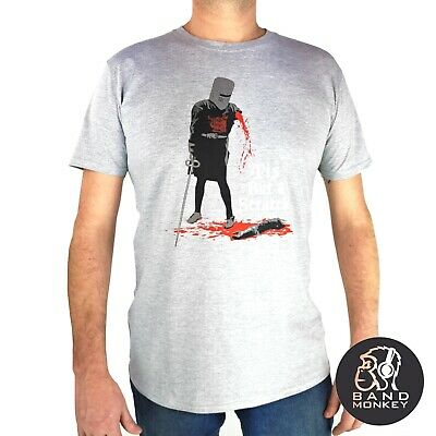 Monty Python Mens Grey T Shirt Tis But A Scratch Official