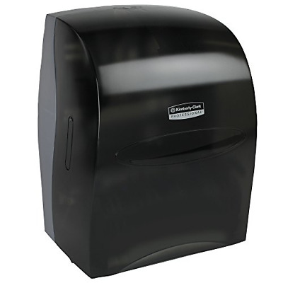 Sanitouch Hard Roll Paper Towel Dispenser 09990, Hands-Free Pull Dispensing,