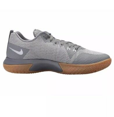 c0fab76af8d2 Men Nike Zoom Live II Basketball   Training Shoes Cool Gray   Gum AH7566-002