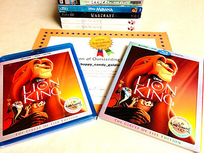 ☛NEW Disney The Lion King Signature Collection [Blu-ray+DVD+Digital,Family,Kids]